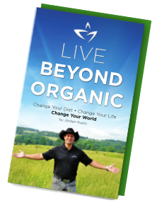 Live Beyond Organic Book by Jordan Rubin