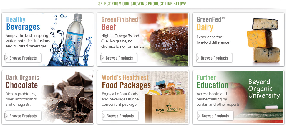Beyond Organic Products Now Shipping