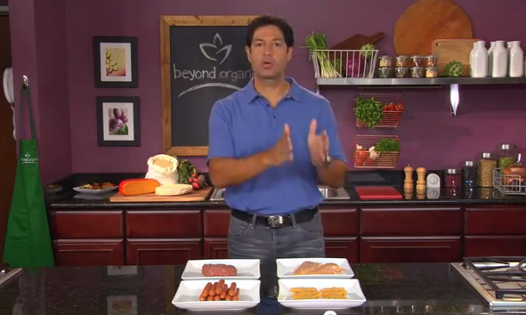 Screengrab TV Show Living Beyond Organic with Jordan Rubin and Guests